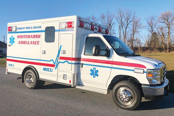 WHITEMARSH COMMUNITY AMBULANCE ASSOC - First Priority Remount Type III Ambulance
