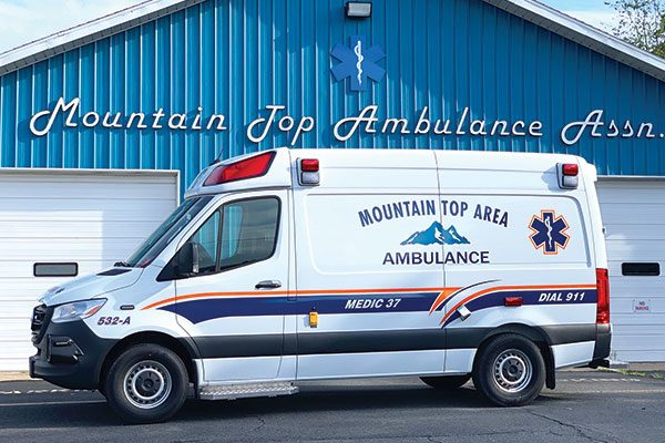 MOUNTAIN TOP AMBULANCE ASSOC DEMERS MIRAGE LT2E
