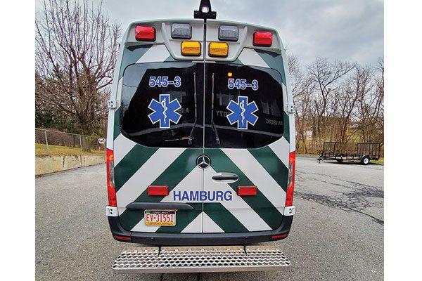 HAMBURG EMS DEMERS MIRAGE LT2E Type II Ambulance