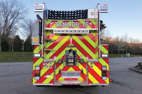 SAXONBURG VOL FIRE CO - 2020 Pierce Velocity Tanker/Pumper