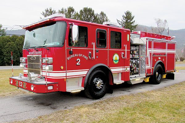 CITY OF WILKES BARRE - Pierce Saber pumper