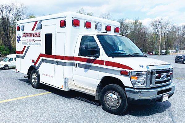 SOUTHERN BERKS REGIONAL EMS Crestline CCL150 Type III Ambulance