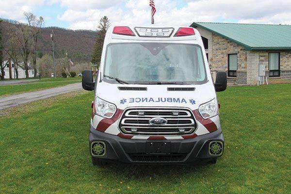 MOUNTAIN TOP FIRE COMPANY - Demers TRANSIT EXE Type II Ambulance