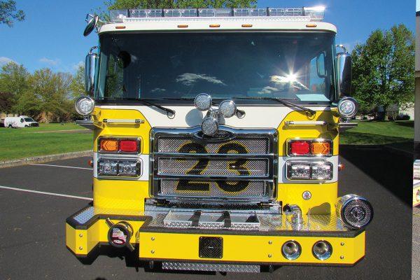MEDIA FIRE COMPANY 2020 Pierce Enforcer Pumper