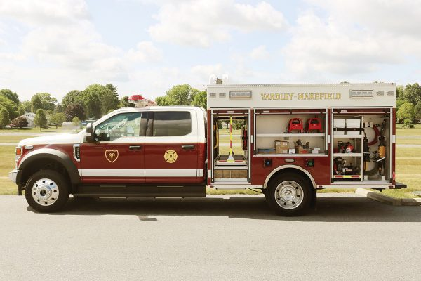 YARDLEY MAKEFIELD FIRE CO - Pierce Utility