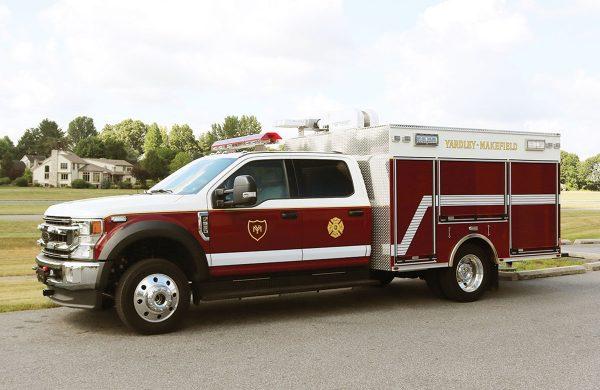 YARDLEY MAKEFIELD FIRE CO - Pierce Utility
