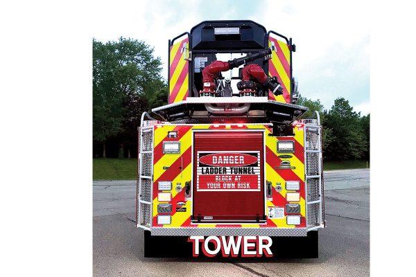 ROSTRAVER CENTRAL VFD - Pierce Arrow XT 100' Mid-Mount PAP Ascendant Tower