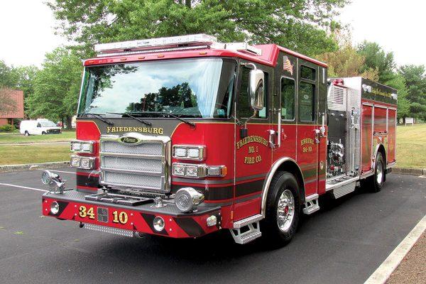 FRIEDENSBURG FIRE COMPANY No 1- Pierce Enforcer pumper