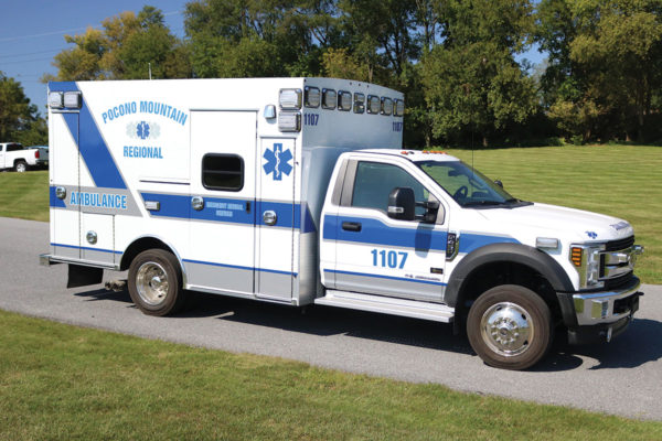 POCONO MOUNTAIN REGIONAL EMS Braun Type I Ambulance