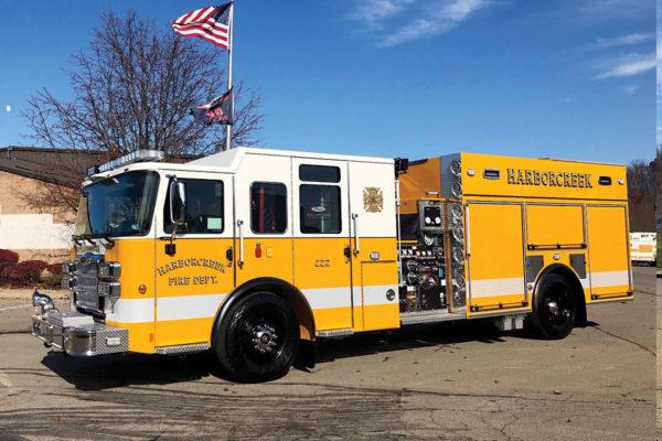 HARBORCREEK FIRE DEPT Pierce Enforcer Pumper
