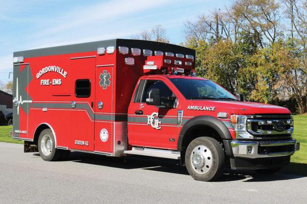 GORDONVILLE AMBULANCE Braun Chief XL Type I Ambulance