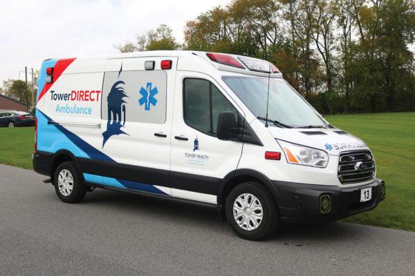 READING HOSPITAL, TOWER HEALTH Demers Transit Type II Ambulance