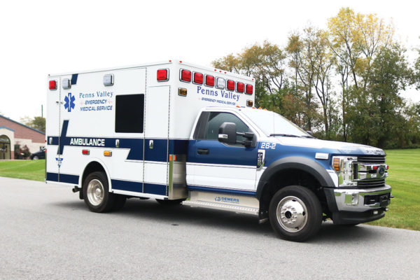 PENNS VALLEY EMS Demers MXP150 type I Ambulance