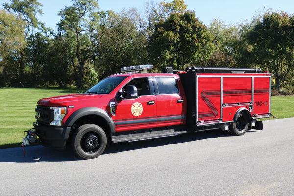 RADNOR FIRE COMPANY Pierce Mini Pumper 34064