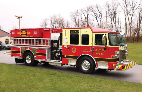 EBENEZER FIR COMPANY Pierce Saber Pumper 34988