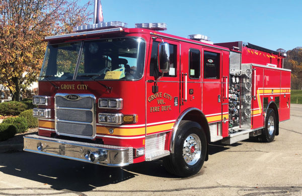 GROVE CITY FIRE DEPT Pierce Arrow XT Pumper 34996