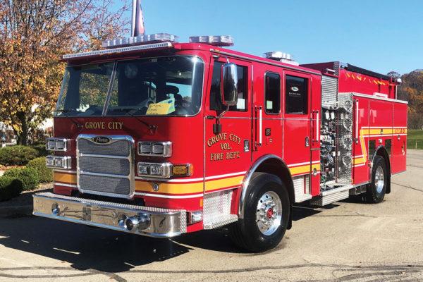 GROVE CITY FIRE DEPT Pierce Arrow XT Pumper 34996