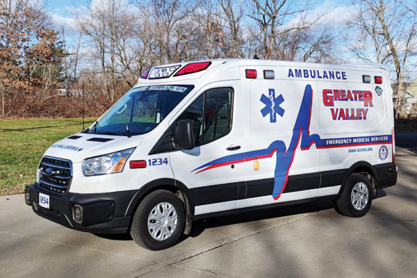GREATER VALLEY EMS Demers Type II Ambulance