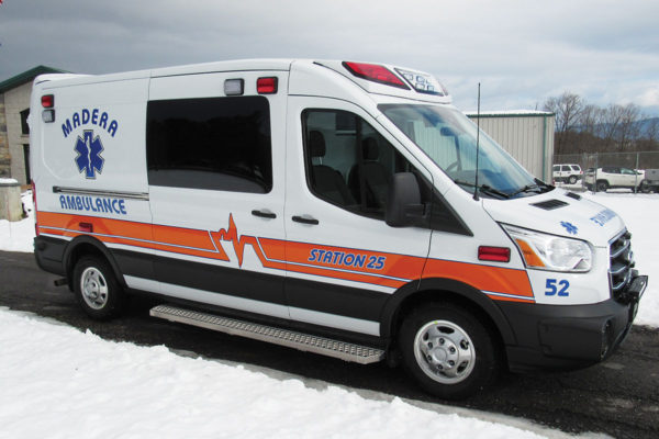 MADERA AMBULANCE SERVICE Demers Transit T250 Type II Ambulance