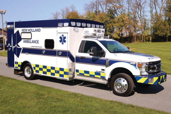NEW HOLLAND EMS Braun Cheif XL Type I ambulance
