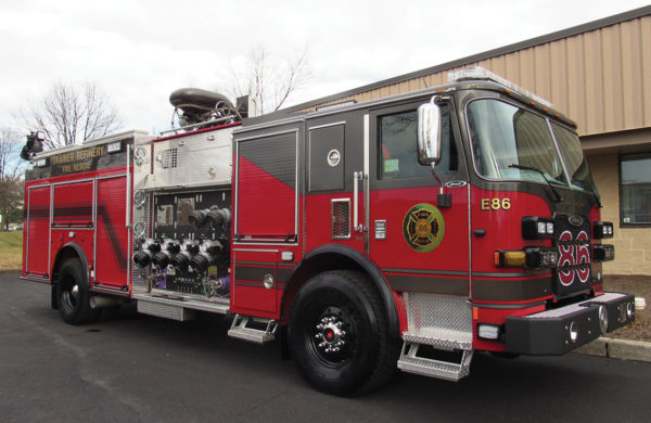 MONROE ENERGY Pierce Arrow XT Pumper