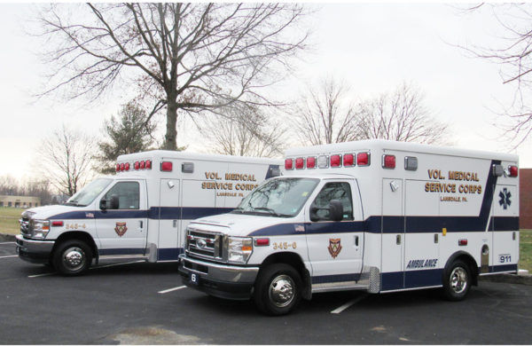 VMSC of Lansdale - Crestline CCL150 Type III ambulances