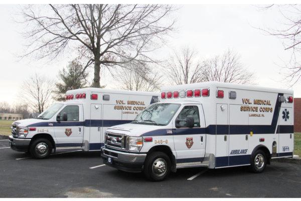 VMSC of Lansdale - Crestline CCL150 Type III ambulances