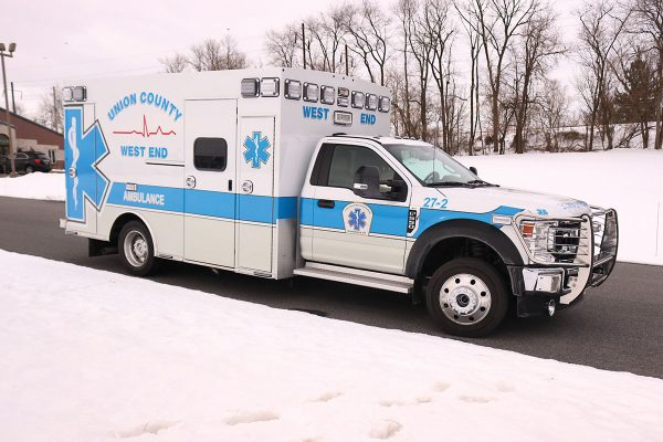 UNION COUNTY WEST END AMBULANCE Braun Chief XL Type I Ambulance