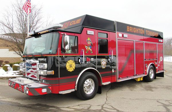 BRIGHTON TWP VOL FIRE DEPT Pierce Saber Encore Rescue