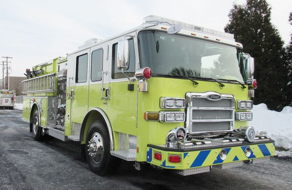 BROOKLINE FIRE COMPANY Pierce Enforcer Pumper