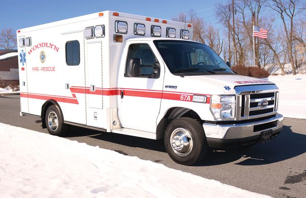 WOODLYN FIRE COMPANY No 1 Type III Ambulance Remount