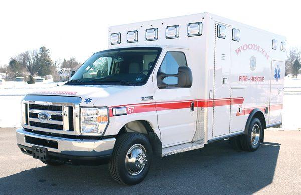WOODLYN FIRE COMPANY No 1 Renaissance Remount ambulance
