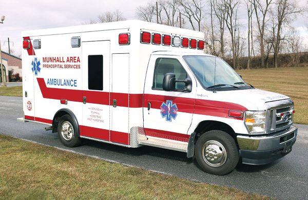 MUNHALL AREA PREHOSPITAL SERVICES Crestline CCL150 Type III Ambulance