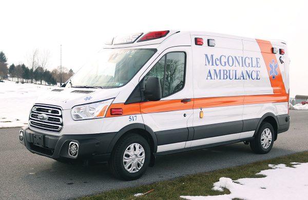 MCGONIGLE AMBULANCE SERVICE Demers Type II Ambulance