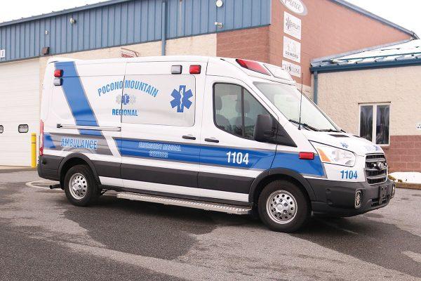 POCONO MOUNTAIN REGIONAL EMS Demers Transit Type II Ambulance
