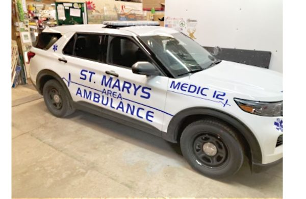 ST MARYS AREA AMBULANCE SERVICE Interceptor
