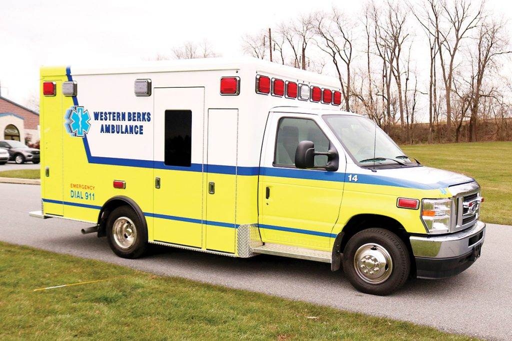 WESTERN BERKS AMBULANCE Crestline CCL150 Type III Ambulance