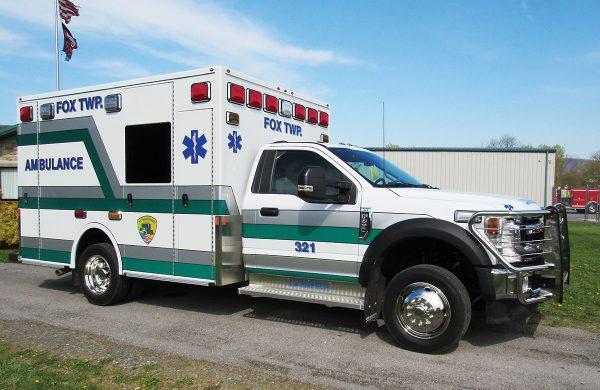 FOX TOWNSHIP AMBULANCE ASSOC Demers MXP150 Type I Ambulance