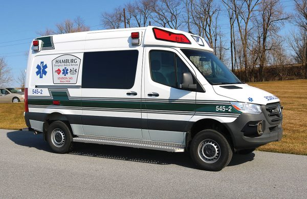 HAMBURG EMS Demers EX Sprinter ambulance