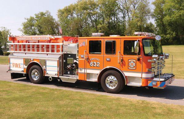 LAFAYETTE FIRE COMPANY Pierce Enforcer Pumper