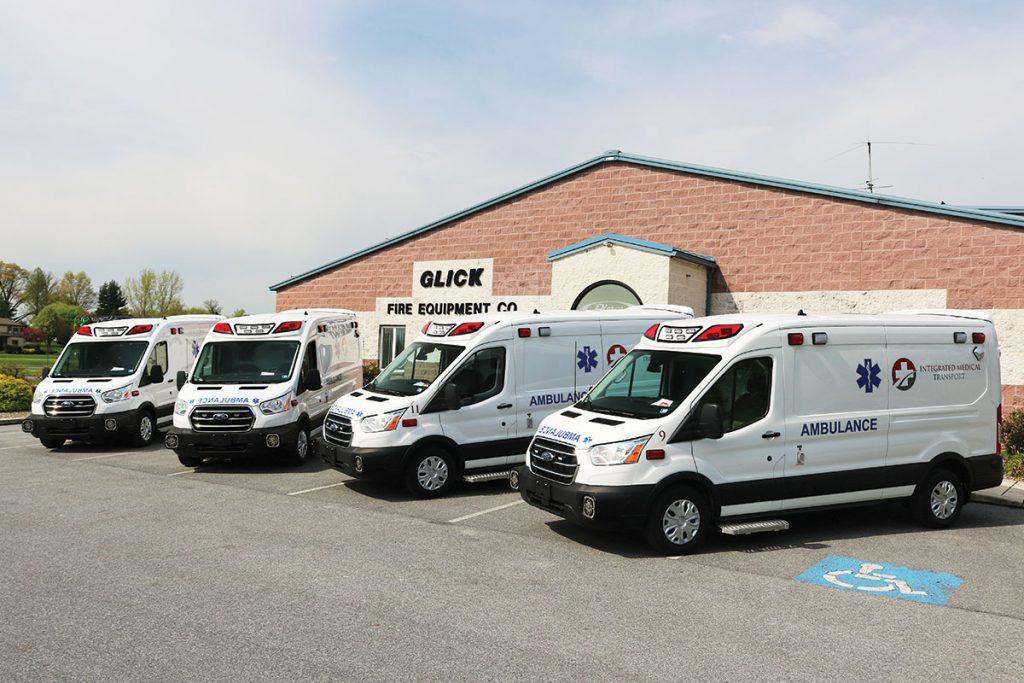 INTEGRATED MEDICAL TRANSPORT Demers TSE ambulances