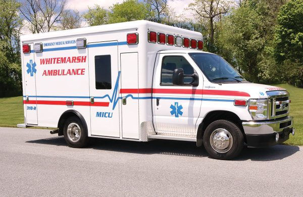 WHITEMARSH COMMUNITY AMBULANCE ASSOC Crestline CCL150 Ambulance