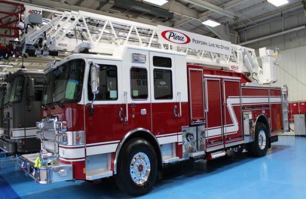 2021 Pierce® Enforcer™ 107' Ascendant® Aerial Ladder