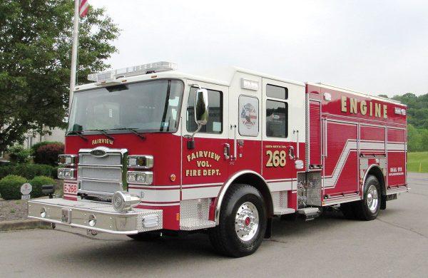 FAIRVIEW VOL FIRE DEPT Pierce Enforcer PUC Pumper