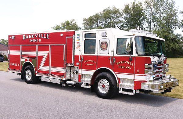 BAREVILLE FIRE COMPANY Pierce Enforcer PUC Pumper