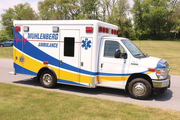 MUHLENBERG AREA AMB. ASSOC Crestline CCL150 Type III Ambulance