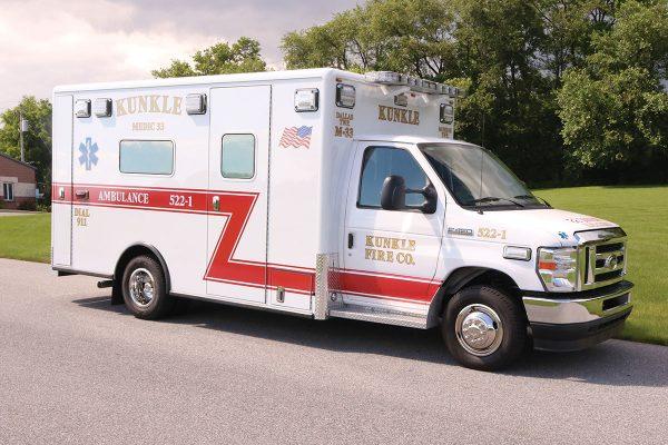 KUNKLE FIRE COMPANY -Type III Ambulance