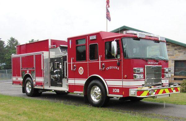 INDIANA FIRE ASSOCIATION Pierce Saber Pumper