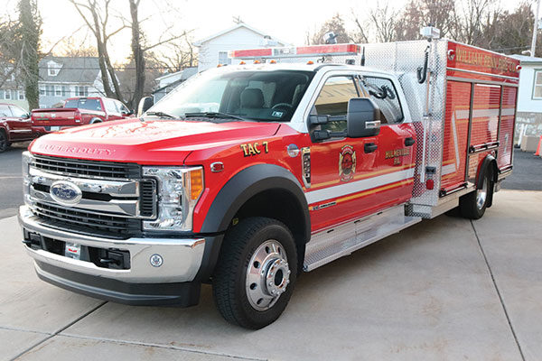 WILLIAM PENN FIRE COMPANY Pierce F550 Mini-pumper, 30422