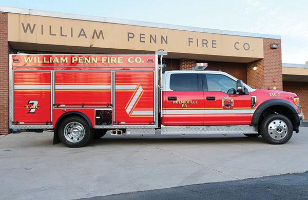 WILLIAM PENN FIRE COMPANY Pierce F550 Mini-pumper, 30422